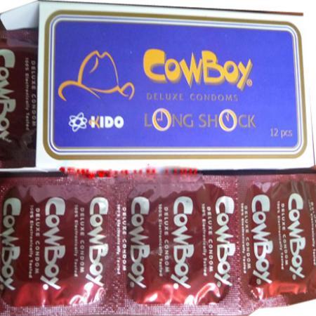 3 hộp Cowboy 12 PCS chính hãng