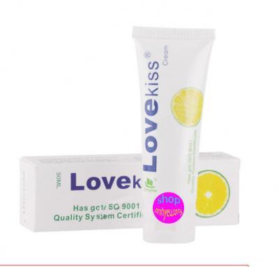 Sản phẩm Gel bôi trơn hương chanh Love Kiss