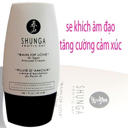 Gel se khích âm đạo cao cấp Shunga