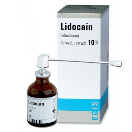 Lidocain 10% cao cấp