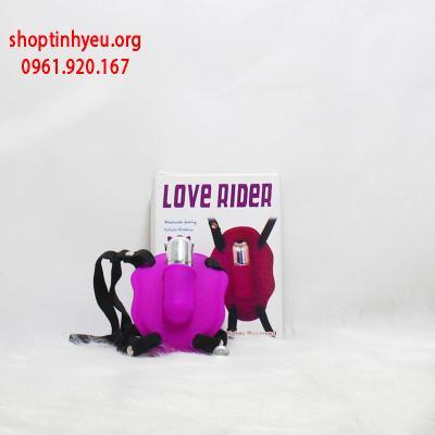 Quần chíp rung kích thích điểm g Love Rider có dây đeo
