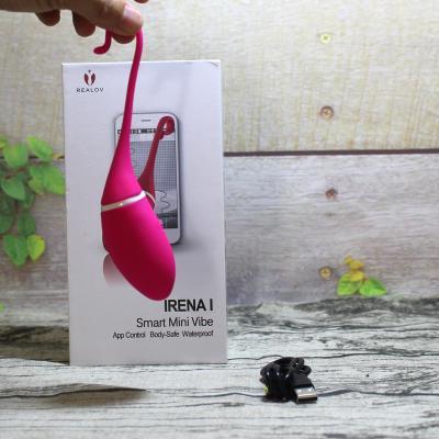 Trứng rung Realov Irena I kết nối Smartphone