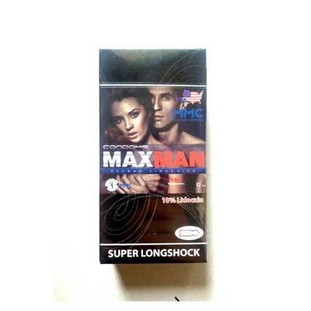 2 hộp bao cao su Maxman 5 trong 1 giá rẻ