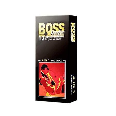3 HỘP bao cao su Boss 4 in 1 cao cấp