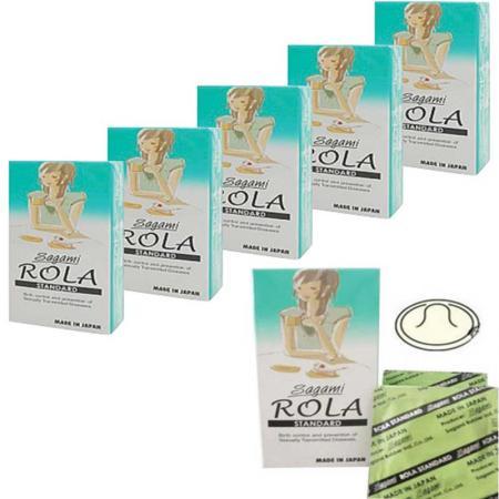 3 hộp Bao cao su Sagami Rola Standard cao cấp
