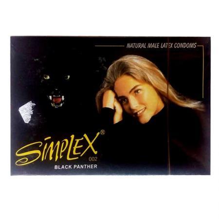 3 HỘP bao cao su Simplex Báo Đen 12 PCS cao cấp