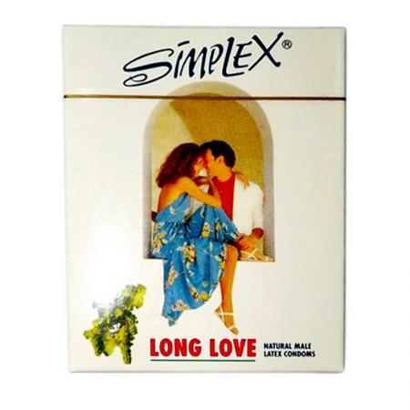 3 HỘP bao cao su SimPlex Long Love chính hãng