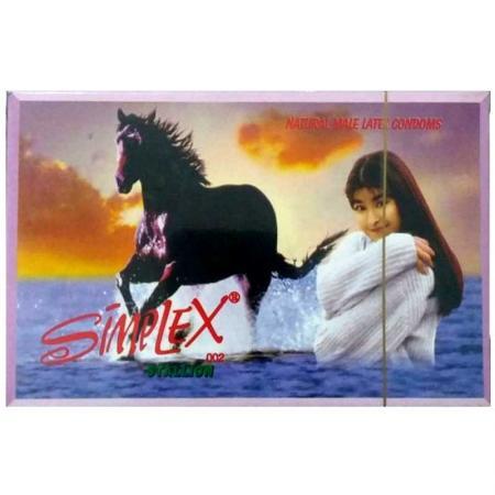 3 HỘP bao cao su Simplex Ngựa Hoang 12 PCS cao cấp