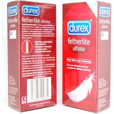 Bao cao su Durex Fetherlite Ultima siêu mõng