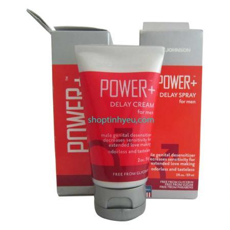 Gel Power Delay Cream kéo dài thời gian